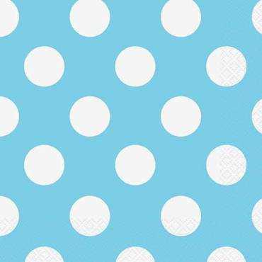 Azul Pastel Bolinhas