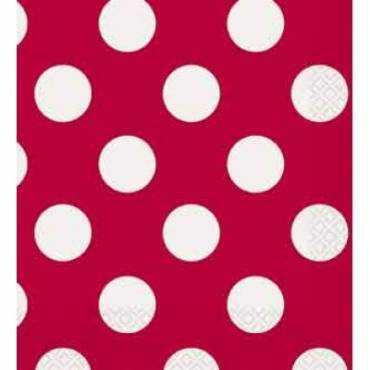 Vermelho Bolinhas