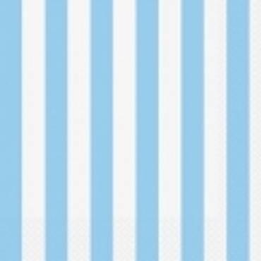 Azul Pastel Riscas